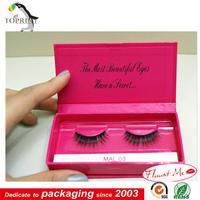 custom different type of eyelash box packaging luxury eyelash box