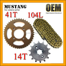 Spare Parts Motorcycle CD70 for Honda Unicorn Chain and Sprocket Kits