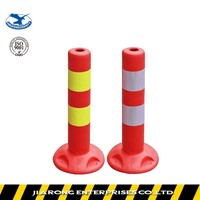 Lower Factoty Price 450mm Soft Flexible Removable Spring EVA warning post