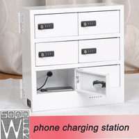 sopower phone charging station 6 docks rechargeable external battery charger mobile phone
