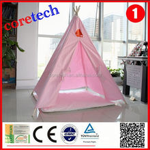 Breathable waterproof kids folding house tent, teepee tent