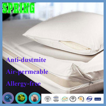 Hypoallergenic Waterproof King Bed Bug Zipper Mattress Cover Protector China supplier Paypal payment accepted