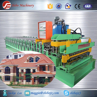 China manufactured metal stud roof panel roll forming machine for Canton Fair