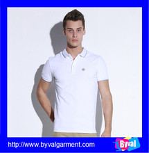 Cheap men's dry fit polo shirt breathable white polo shirt for men China manufacturer