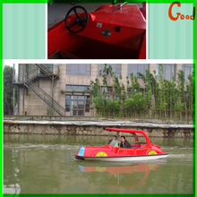 [Wonderful !!!]china new water park projects cheap fiberglass water electric taxi boat sale