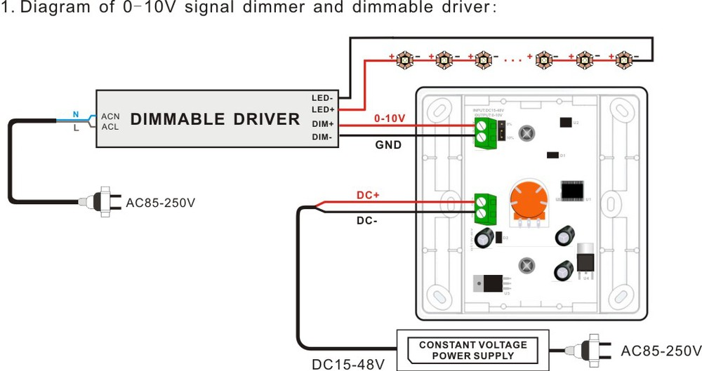Dimming LED Driver Wiring Diagram likewise Honda Riding Mower Wiring Diagram as well LED Driver Wiring Diagram likewise Dimming Ballast Wiring Diagram in addition 0 10V Dimming Wiring Diagram. on 0 to 10 volt dimmer wiring diagram
