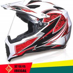 DOT Certification Best Price Motor Helmet Cross With Visor