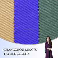 Twill type Woven Wool&polyester Blend Fabric, yarn dyed