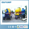 Trash handling self-priming pumps