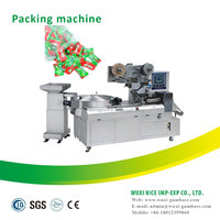 flow pack wrapping machines ball warping machine