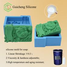 sıvı silikon kauçuk sabun kalıpları