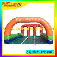 2015 Kule inflatable sport games fun derby horse race game board horse race game