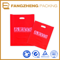 LDPE Custom Logo Printed Die Cut Bag Dry Bag / Wholesale
