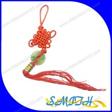2015 MSD fashion decorative chinese knot with jade