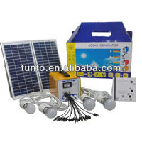 Rechargeable 16w mini solar kit For Africa/southeast Asia/Pakistan
