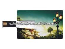 1gb-256gb spot sales of high quality heart-shaped modelling of credit card usb flash disk