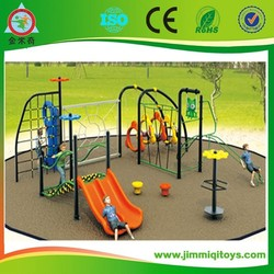 Adventurous outside playground equipment with high quality