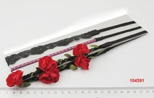 FASHION 2015 !! 3 set headwrap accessories with rose