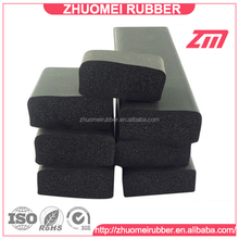 black synthetic rubber scuttle and hatch gasket