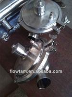 Hygienic sanitary stainless steel constant pressure regulating valve
