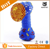High Quality Rubber Silicone Soft Bone Squeak Dog Toys