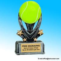 Personalized 5 1/2 inch Tennis Varsity Sport Resin