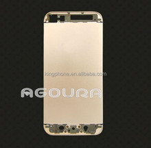 Champagne color gold plating luxury cell phone housing for iphone5S
