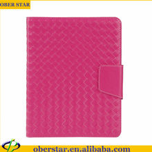Weave Case For iPad 2 3 4 Cell Phone Leather Cover