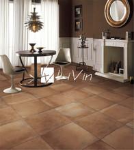 Cemento marrón azulejo para piso LVF6622