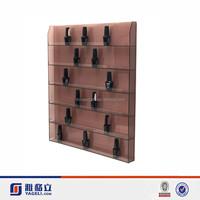 Brand New Clear Acrylic Nail Polish Wall Display Organize Rack,opi nail polish display rack
