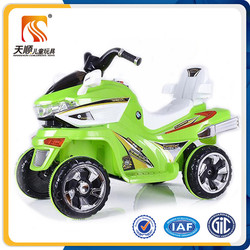 Cool four wheel kids motorcycles with battery operated power / plastic motorcycle for children / plastic children motorcycle