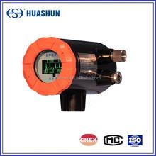 HS-2000 external ultrasonic liquid level gauge apply for light oil tank