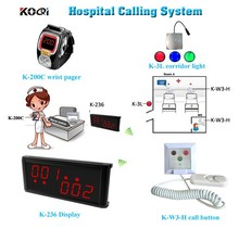 High Quality Hospital Call Equipment Nurse Call Bell Buzzer Patient Call Button System