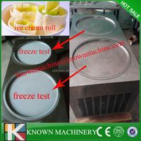 2015 Hot sale in US market Thailand fruit ice cream rolls machine,fruit yogurt ice cream rolls machine