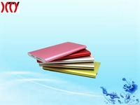 Hot!!!Super slim 4000mah Li-polymer battery mobile power bank with high qaulity