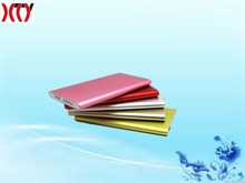 Hot!!!Super slim 4000mah Li-polymer battery mobile power bank with high qaulity