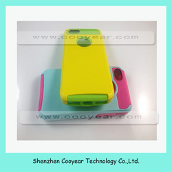 PC Shockproof Dirt Dust Proof Hard Matte Cover Case For iPhone 5 5S + Film Gold, paypal is accepted