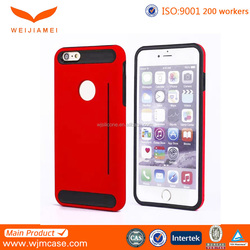 smart designer hybrid cell phone case for iphone 6 in china