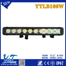 100w 17.2inches long led work lights bar Combo beam For Jeep SUV/ Truck/Car/automative/Off-road bulb lamp light fog lighting