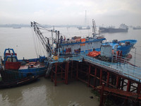 CCS/BV Certified Steel Fishing Vessel Trawler