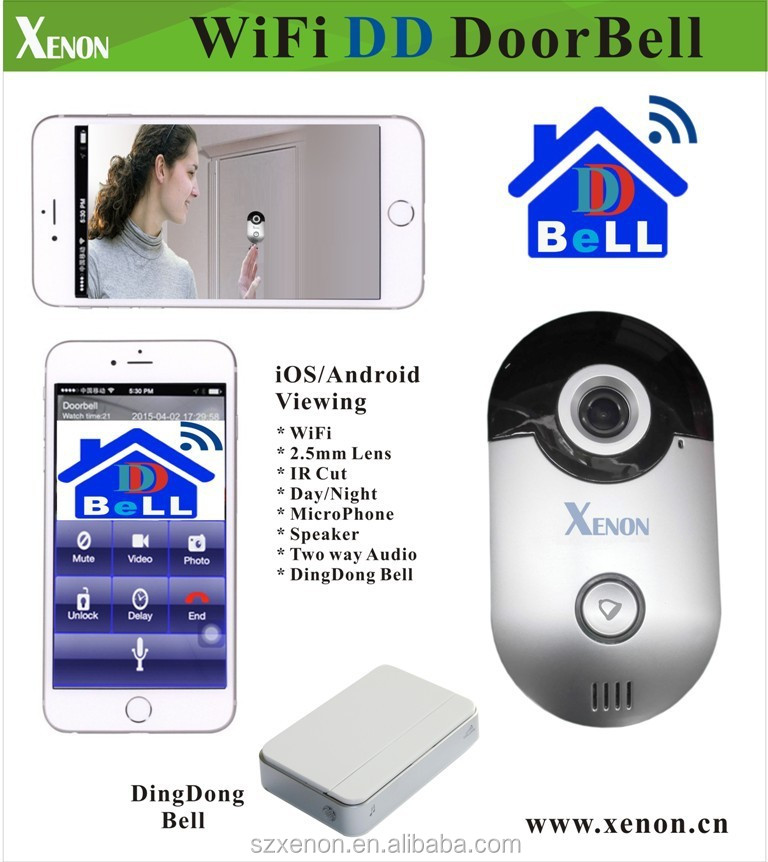 Smart Home Wifi Apartment Door Bell With Intercom Remote ...