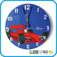 Decorative Tempered Glass Wall Clock (Z-DIA300/DIA350)