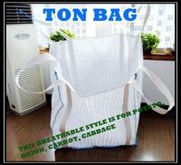 100% polypropylene pp woven vegetable super sacks 1000kg, breathable jumbo bag 800kg for potato etc