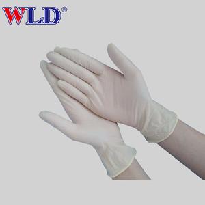 プロフェッショナル中国メーカー病院ラテックスコーティングされた検査手袋