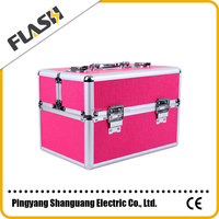 Popular High Quality Hot Sale Aluminum Box Promotion Gift Cosmetic Box / Case
