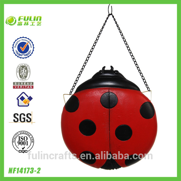 Home Decorative Resin Wall Lady Bug Hanging