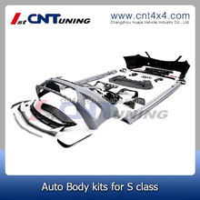 New arrival!! 2014 s65 car body kits bumper FOR S class w222