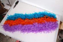 peacock feather boas