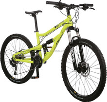 FUSION ,26 INCH , KIDS AND PARENTS,DUAL SUSPENSION MTB FROM GOLDEN WHEEL, 30SPEED, DOUBLE HYDRAULIC DISC BRAKES, ALLOY FRAME
