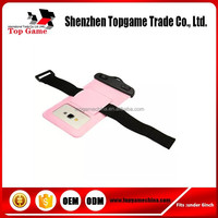 Under 6inch Waterproof mobile phone case with neck strap & armband